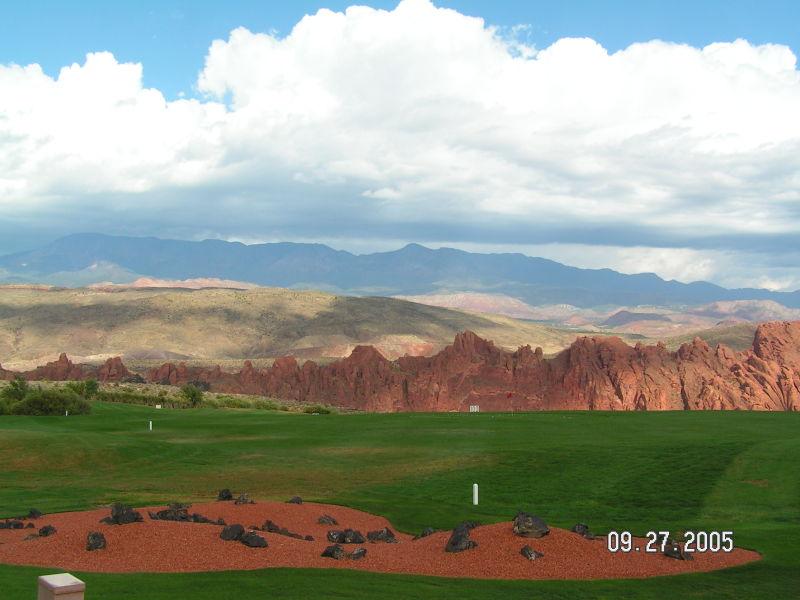 Sky Mountain Golf Course in Hurricane, UT
