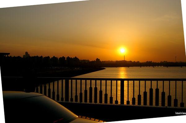 Sunset in Korea