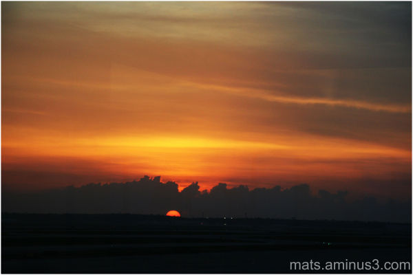sunrise, IAH