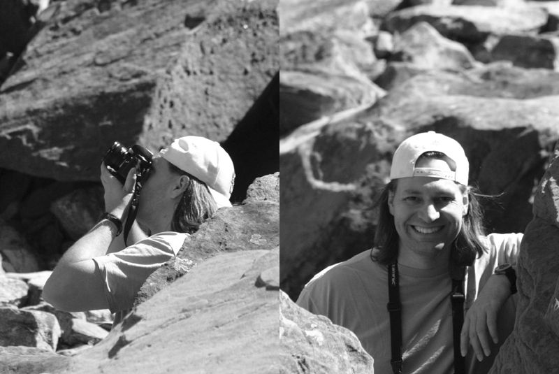 ed black and white at zion