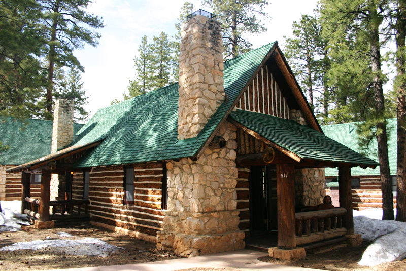 a cabin inside bryce canyon national park