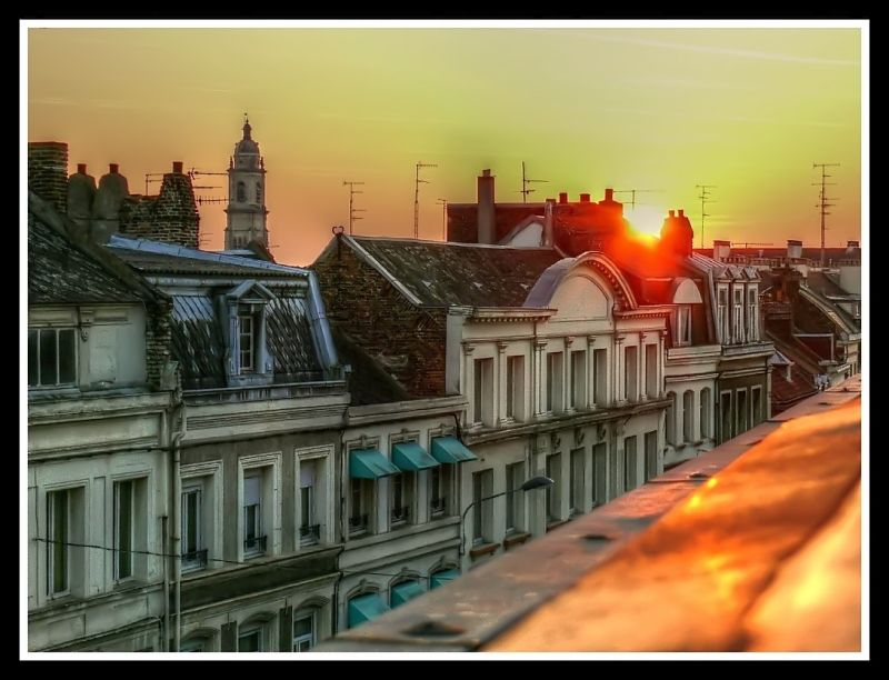 cambrai sunset