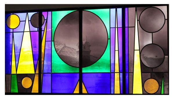 cateau au vitraux