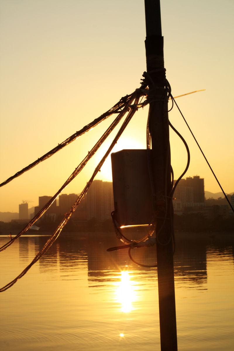 Shing Mun River sunset