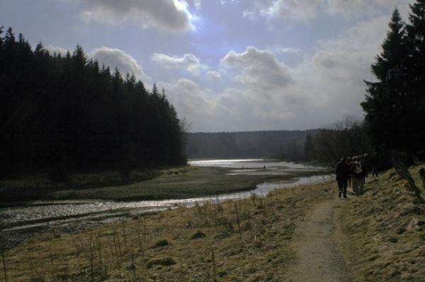 Le lac de Bütgenbach