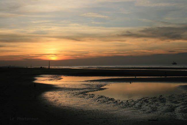 Un soir de novembre sur la plage