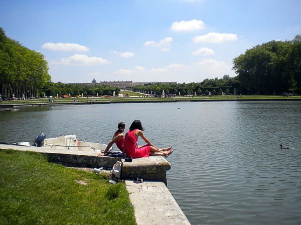 Le grand Canal (Versailles - Fr)