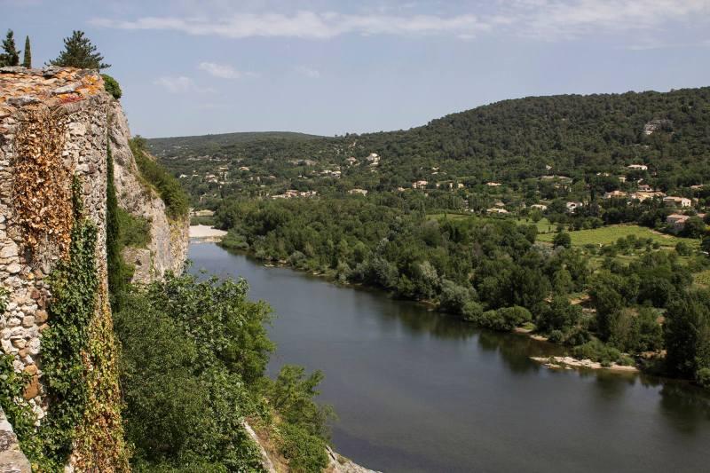 Une vue sur l'Ardèche