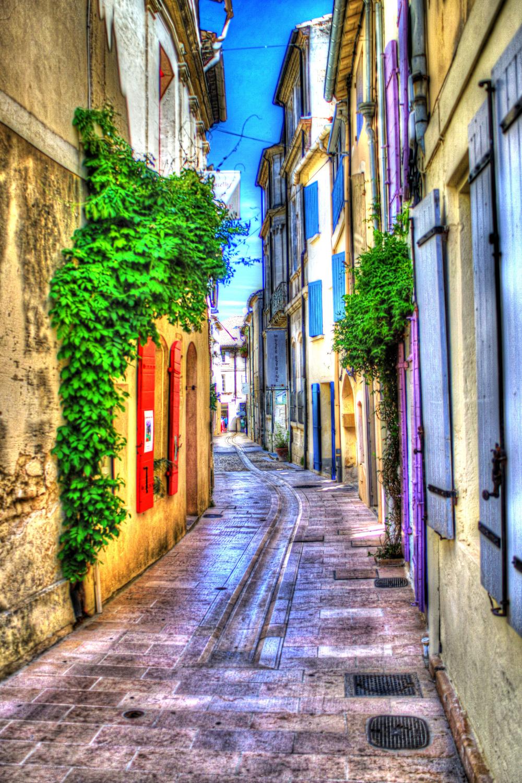 Dans les rues de St Remy (Fr)