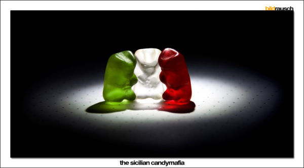 candy,italy, sicilian, mafia, red, green, withe