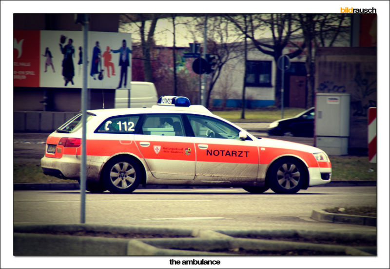 ambulance, germany, car, fast