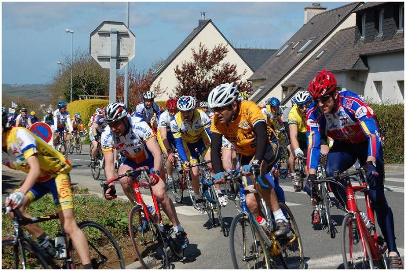La course cycliste