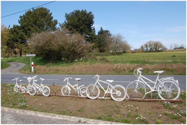 Les vélos blancs