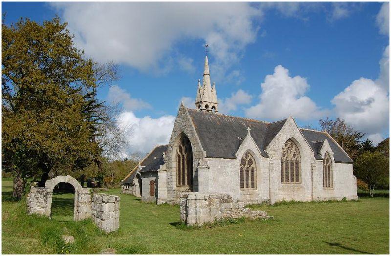 La chapelle de Tréminou à Plomeur