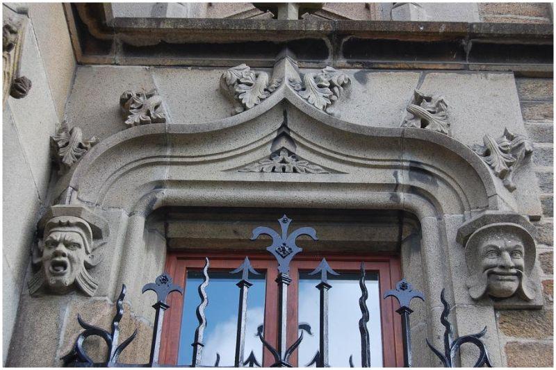 Détails du château de Ker Stears