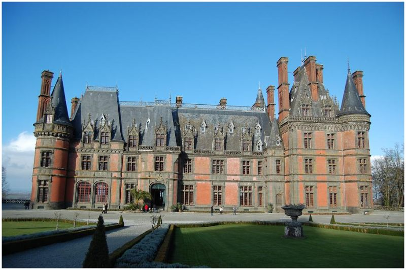 Le château de Trévarez à Saint-Goazec - Finistère