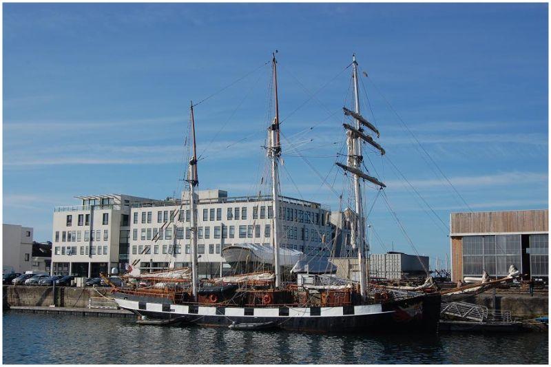 La Boudeuse à Brest