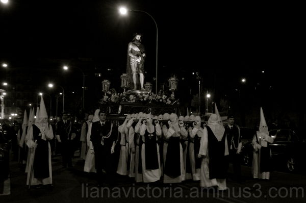 procession during semana santa in Spain