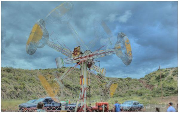 Hatch Chile Festival Carnival Ride
