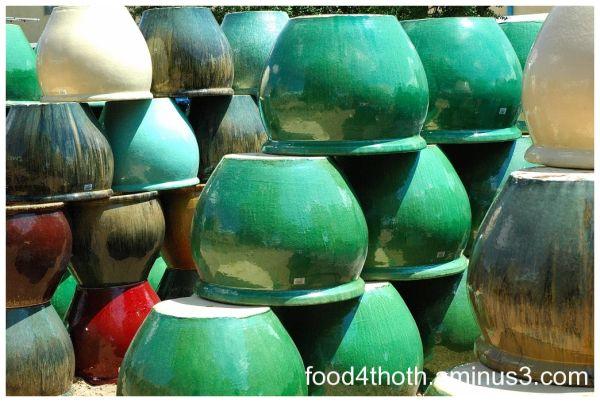 Pots and more pots