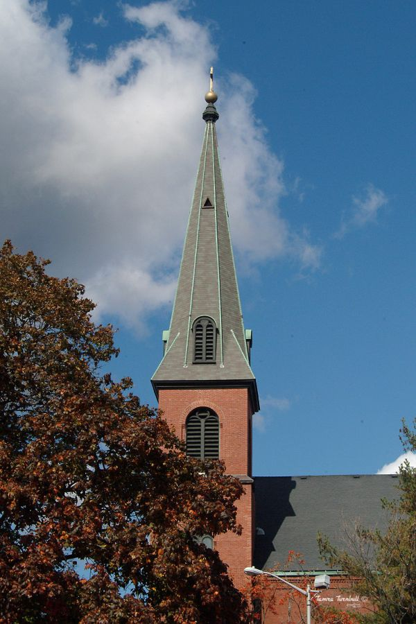 Steeple in  Salem, Massachusetts