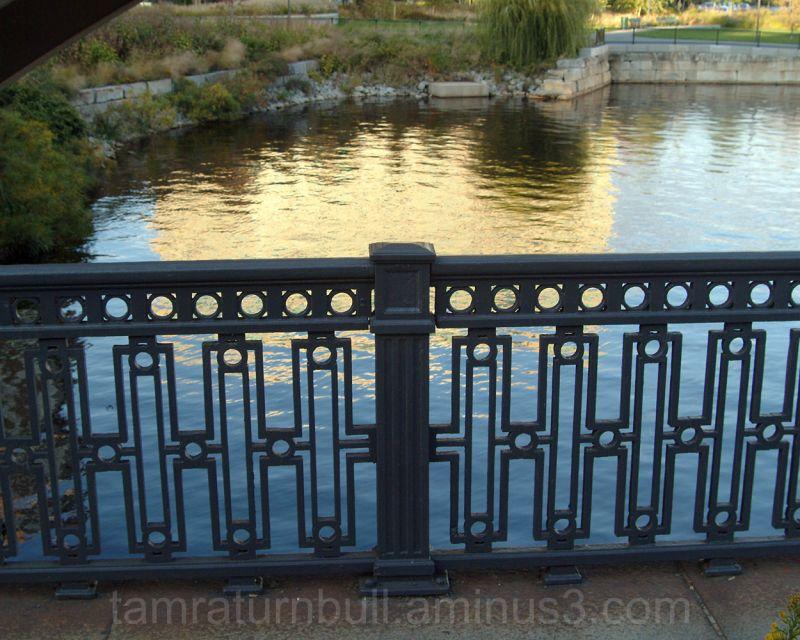 Silhouetted Bridge