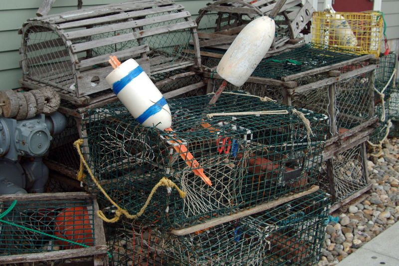 Lobster Cage Bobbers
