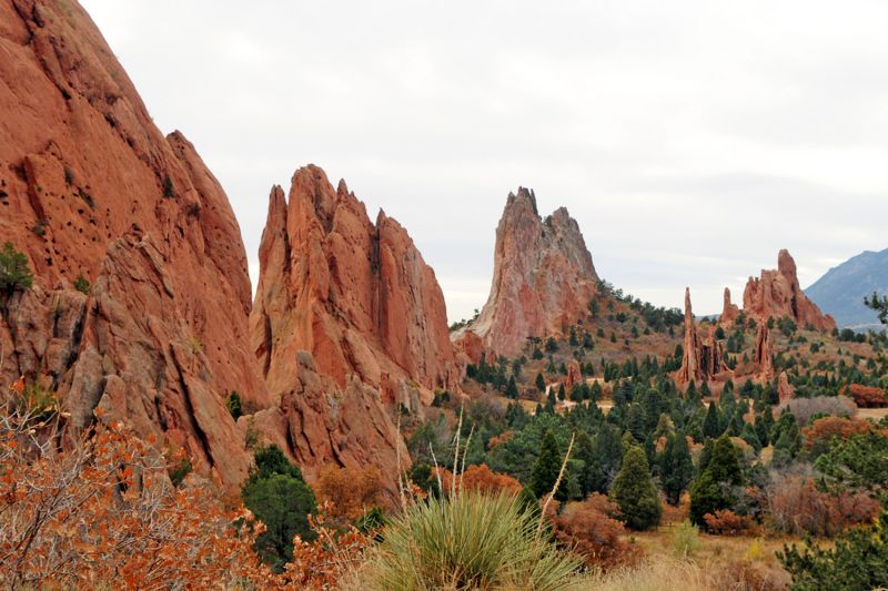 Garden of the Gods - overview