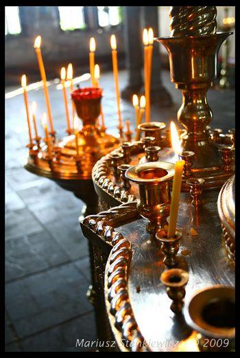 Belarus - church candles