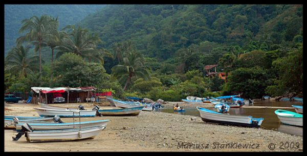 Mexico - low tide