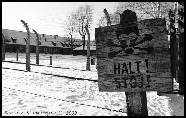 Poland - Auschwitz, Halt!
