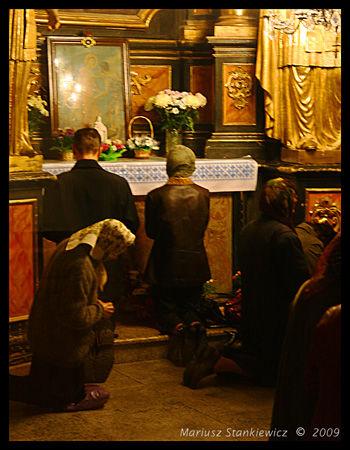 Ukraine - church service