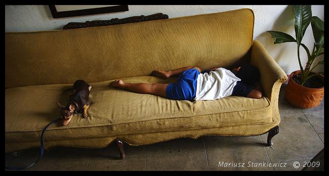 Mexico - taking a nap