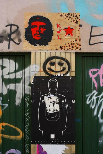 Hamburg, Germany - graffiti