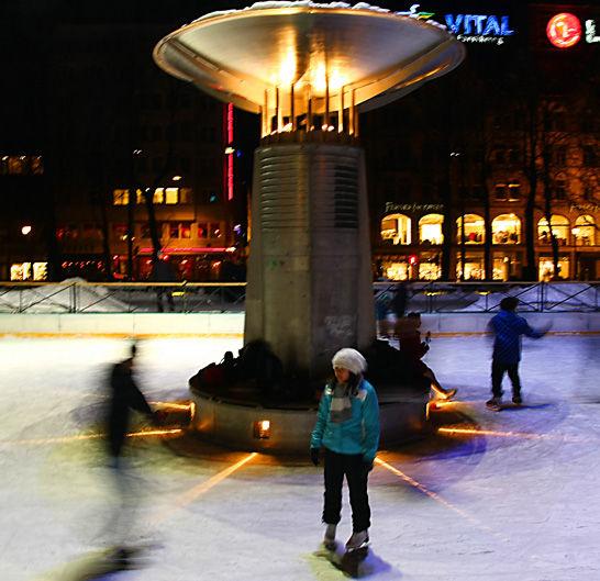 Oslo, Norway - ice rink