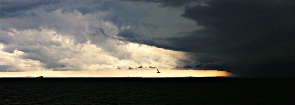 long island sound storm