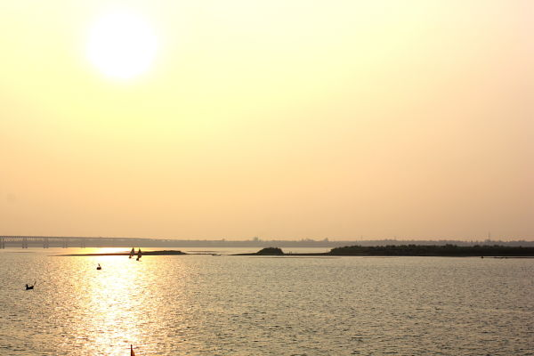 Dawn in Godavari