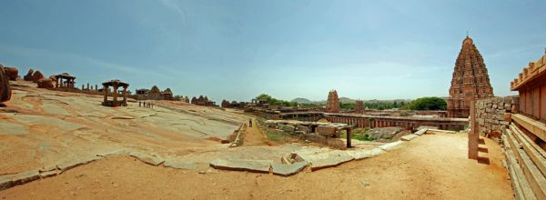 Panorama - Humpi Temple