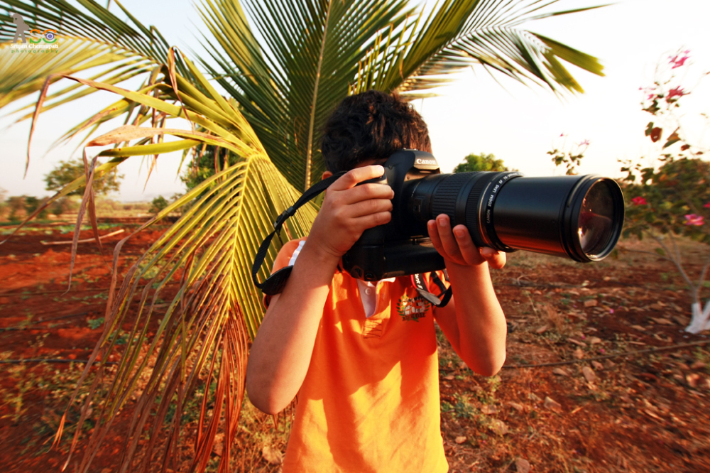A Young Photographer