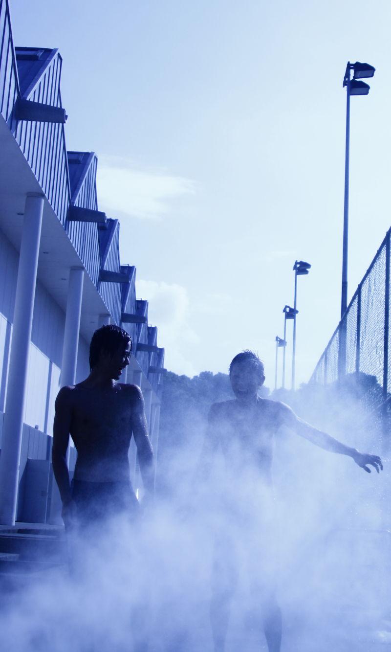 Fun in the smoke