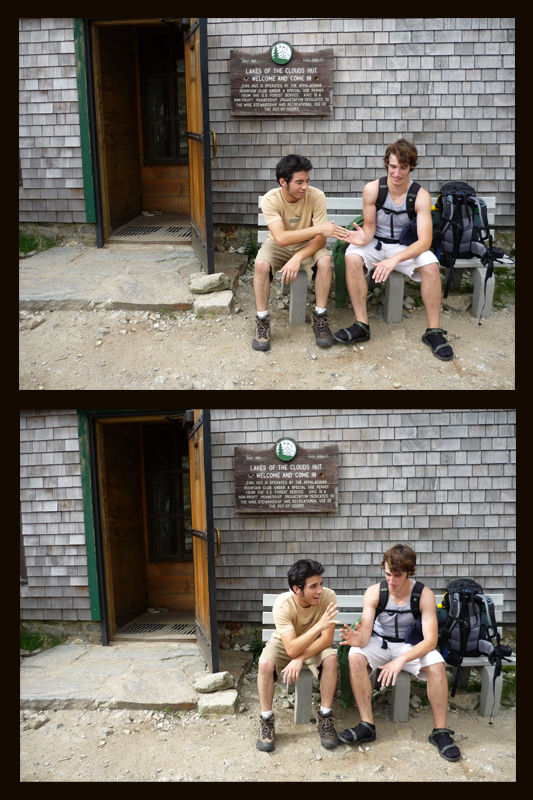 The Wells, Maine handshake makes it to White Mts