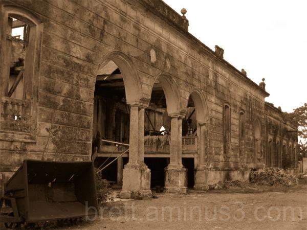 An abandoned hemp rope factory