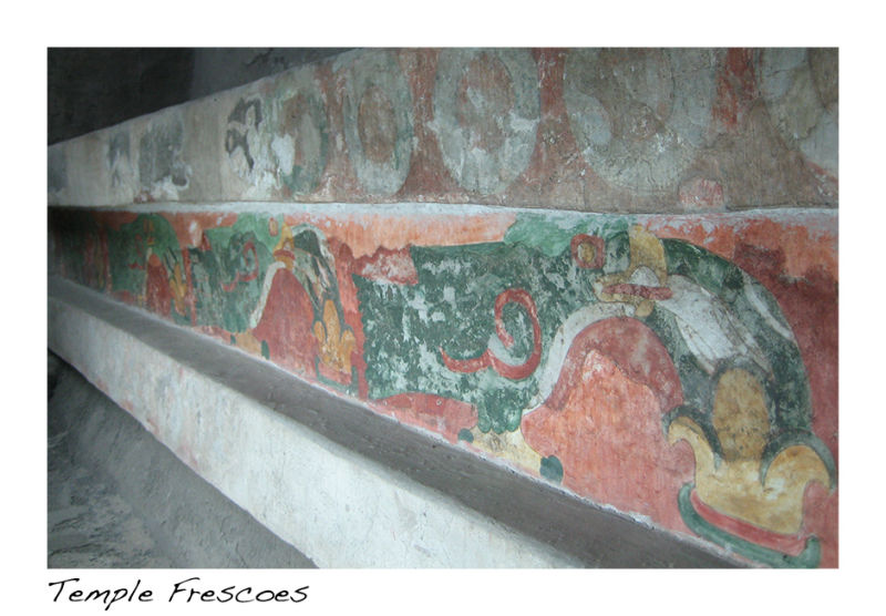 A picture of frescoes