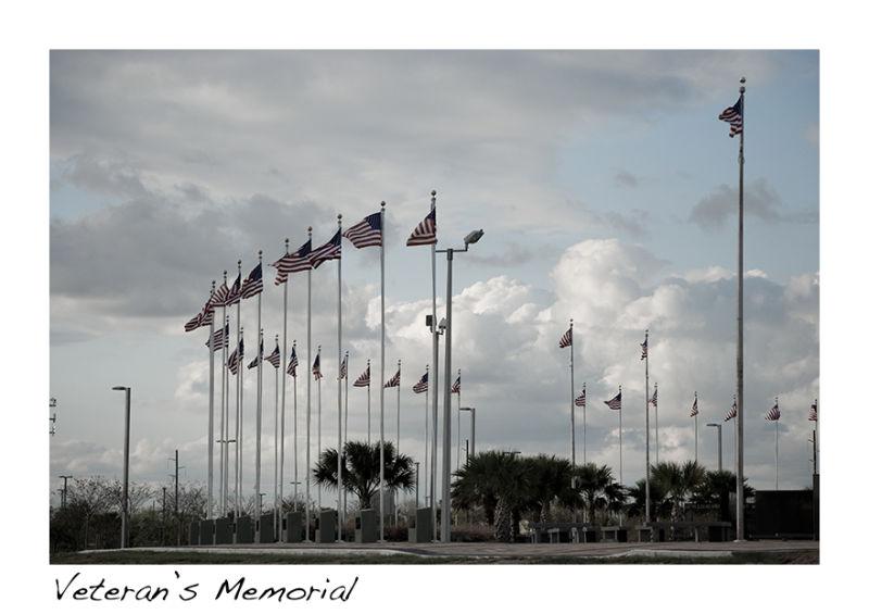 a veterans memorial