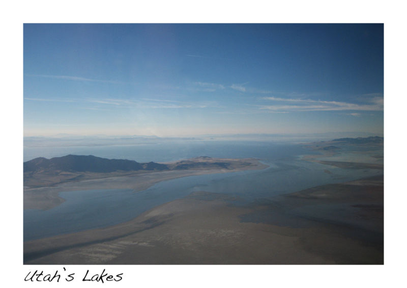 A picture of Utah lakes