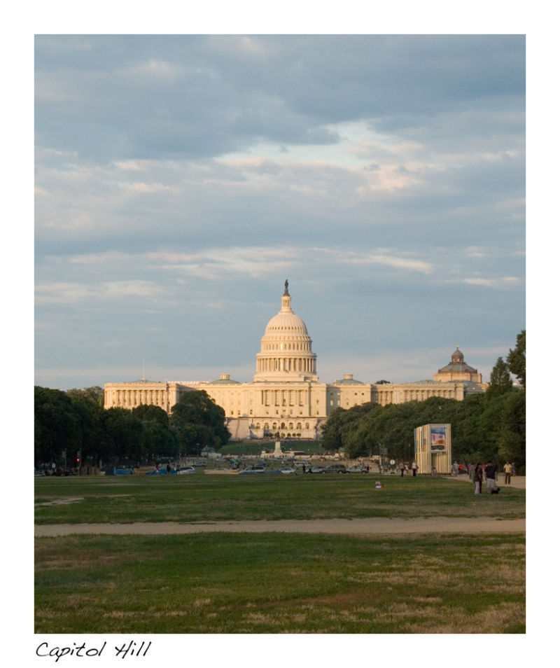 A picture of Capitol Hill