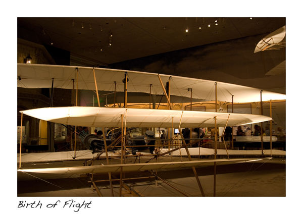 A picture of the Wright Flyer