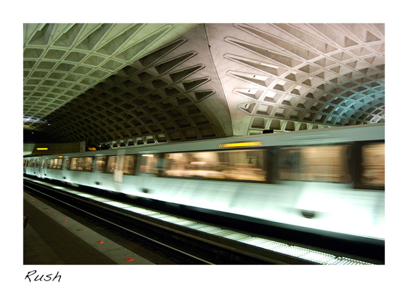 A picture of the subway