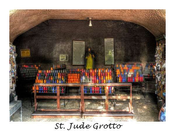 A picture of ST Jude Grotto