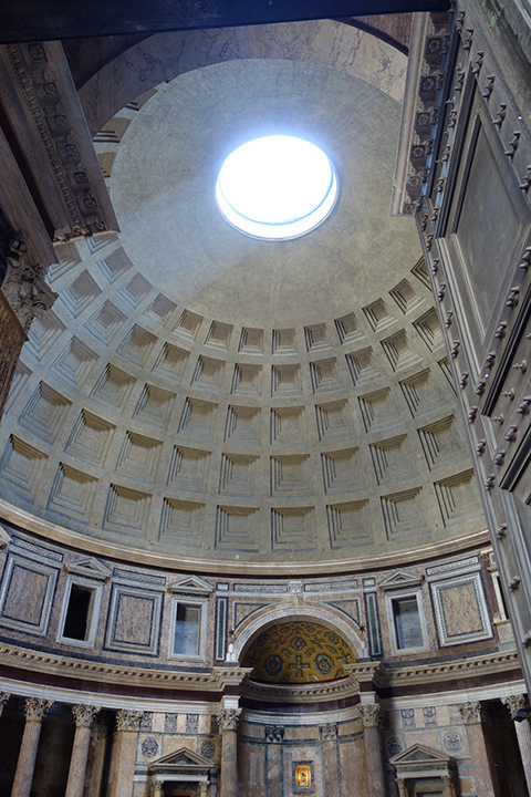 A picture of the Pantheon